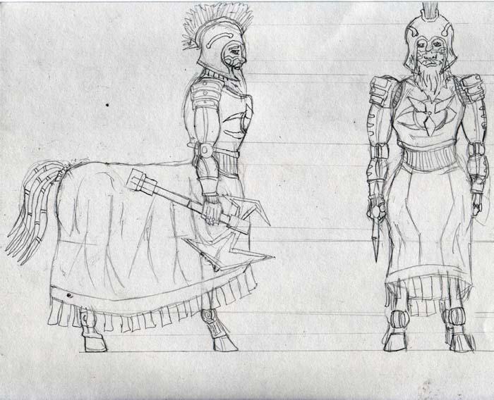 Berle, Hoplite of Valor