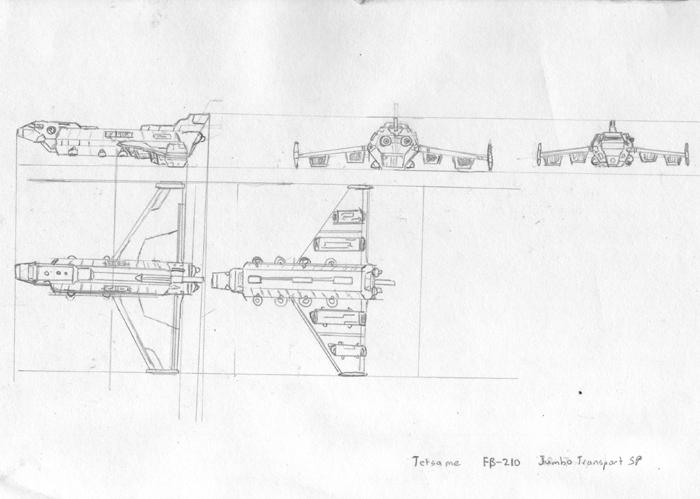 FB-210 Jumbo Transport SP by Wrathofautumn