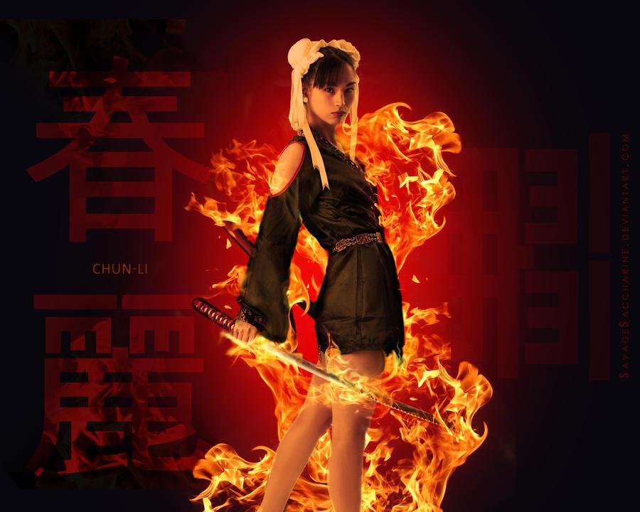 Chun-Li Zang by s-a-n-i-m