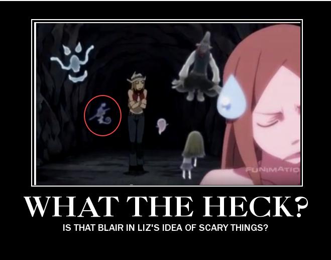 Liz is afraid of ghosts.. and Blair?! by WerewolfPTStudios ...  Liz is afraid o...