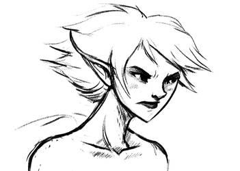 Grump Face by Pereprin