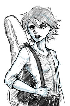 Fencer Marianne