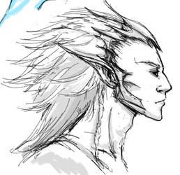 Elf Warrior by Pereprin