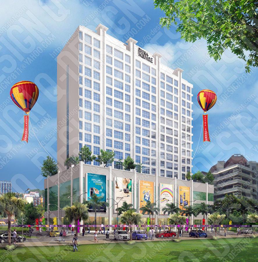 Apartment Shopping: The Square Apartment & Shopping Arcade