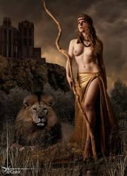 Lion Queen by Kestrel01