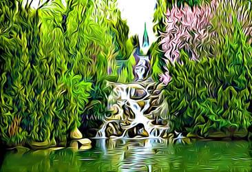 Small Waterfall-Digitalized by Lambieb123