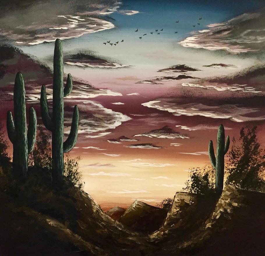 Arizona Sunset by Lambieb123