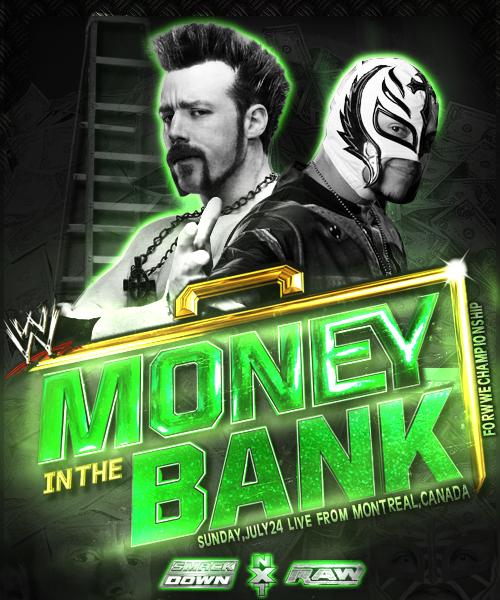 WWE Money in the Bank Poster by zinopowa
