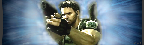 Chris Redfield Signature by GuardianAngeI