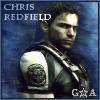 Chris Redfield Icon by GuardianAngeI