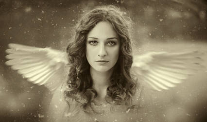 angel thoughts.. by Yokofashion