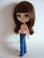 Made Jeans for Blythe by chun52