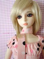 My girl in peasant dress by chun52
