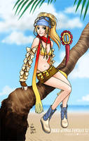 Rikku from ffx2 by chun52
