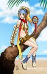 Rikku from ffx2