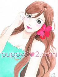 Girl borrowed pose by chun52