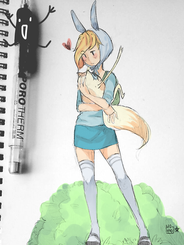 fionna and cake :: by momopu