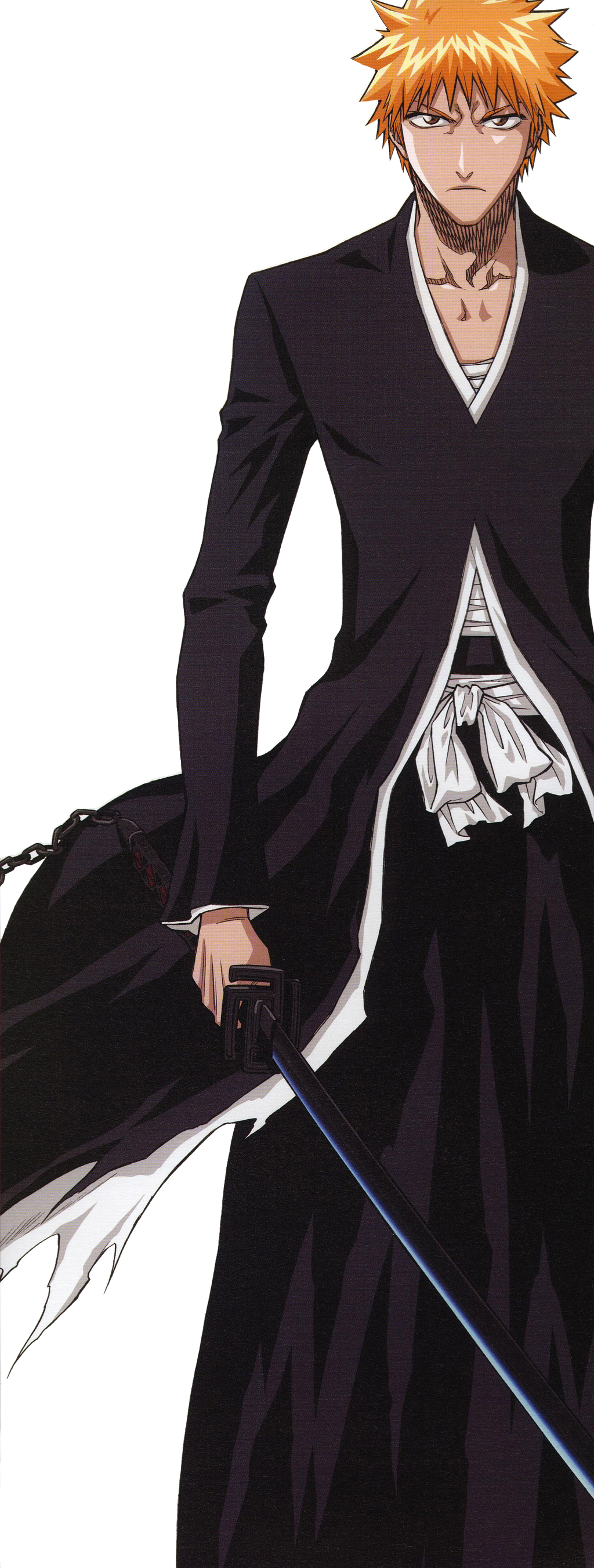 Bleach Ichigo Bankai Render