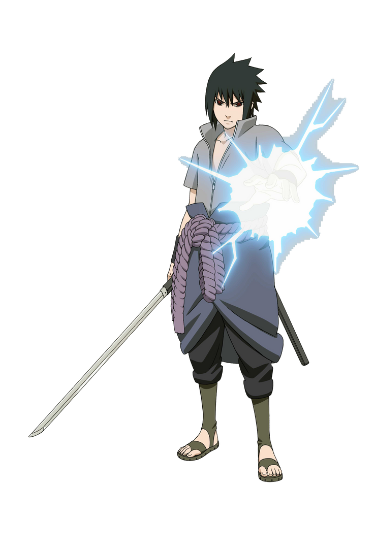Sasuke Uchiha Chidori Render by Hiyori456 on DeviantArt