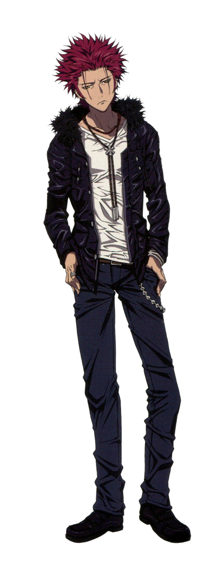 THE OG GANGSTA, YES HE IS Suoh_mikoto_render_by_hiyori456-d6whrry