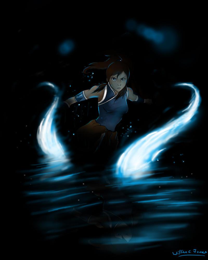 The Avatar Korra by williamcjones48