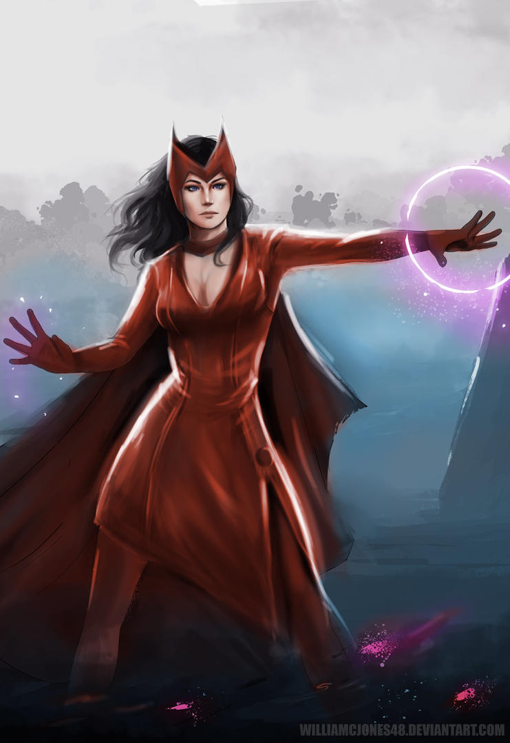 Scarlet Witch by williamcjones48