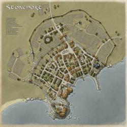 City of Stoneport by Ashlerb