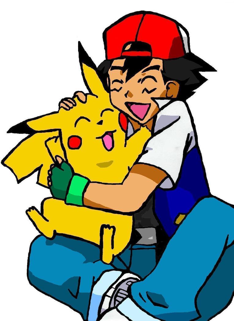 pokemon ash and pikachu by bozoloveshiei on deviantart