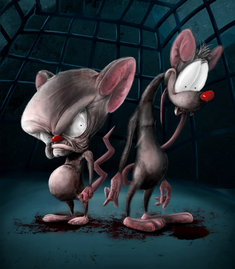 Imagenes De Pinky Y Cerebro Chistosas | Imagenes Graciosas