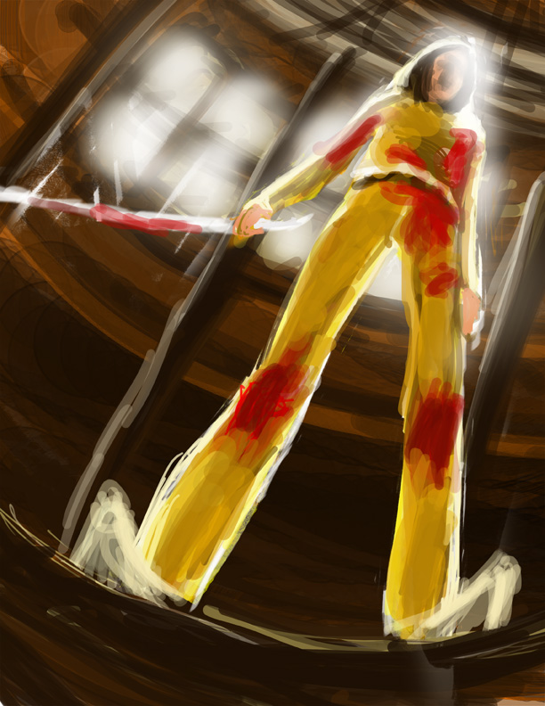 Kill Bill by isrobriones