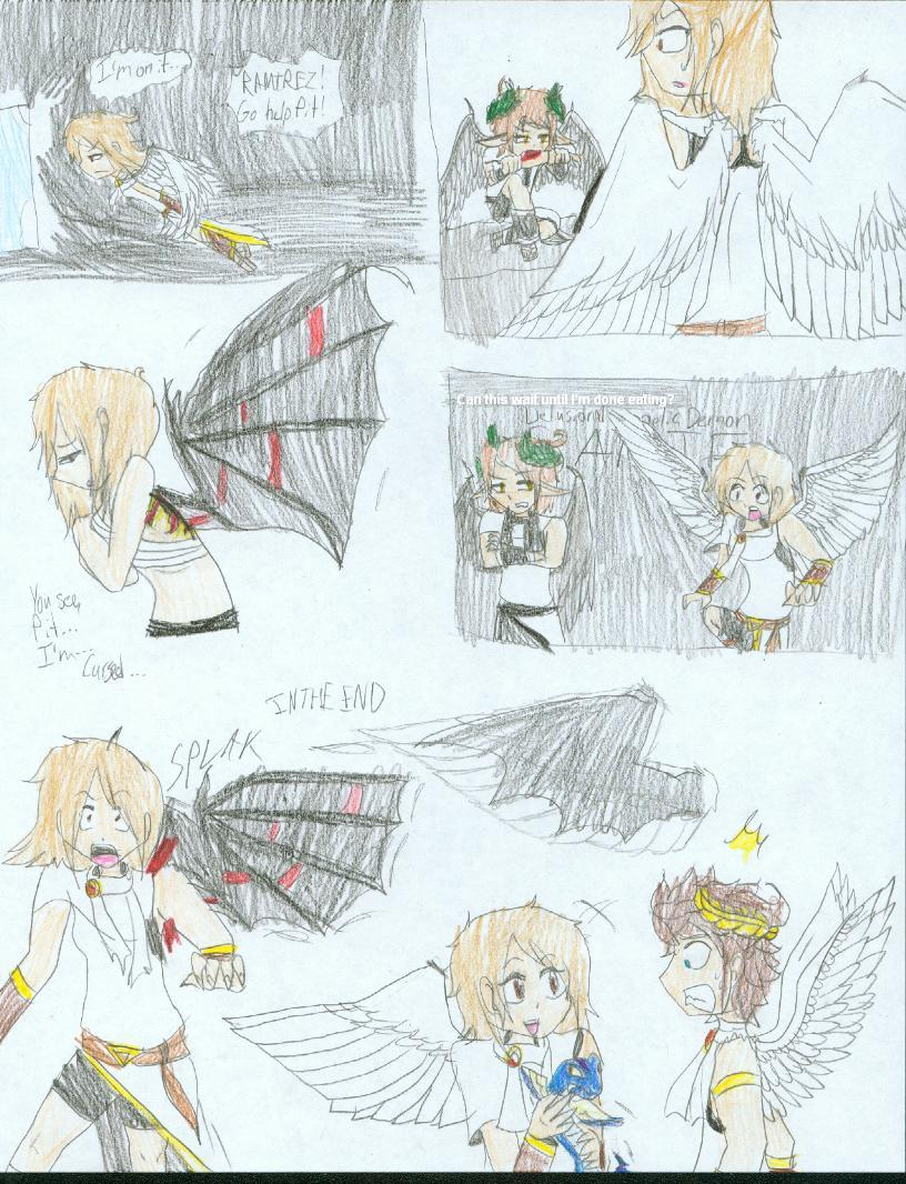 ANOTHER KID ICARUS OC By VeronaEspada