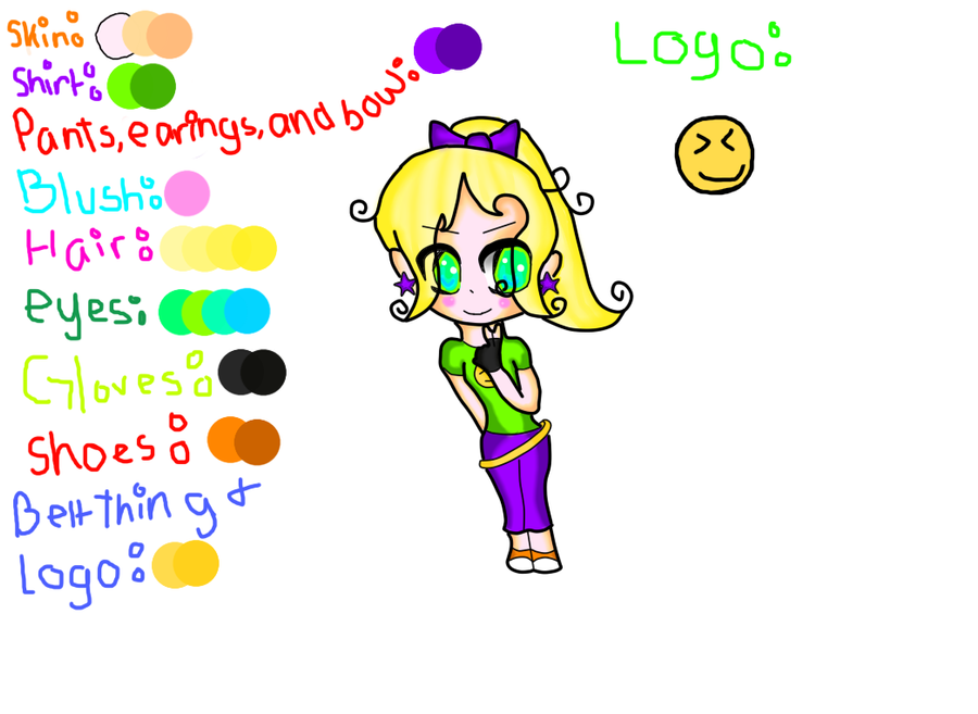 My Oc Spark, Refrence, and chibi form by Sunshine4235 on DeviantArt