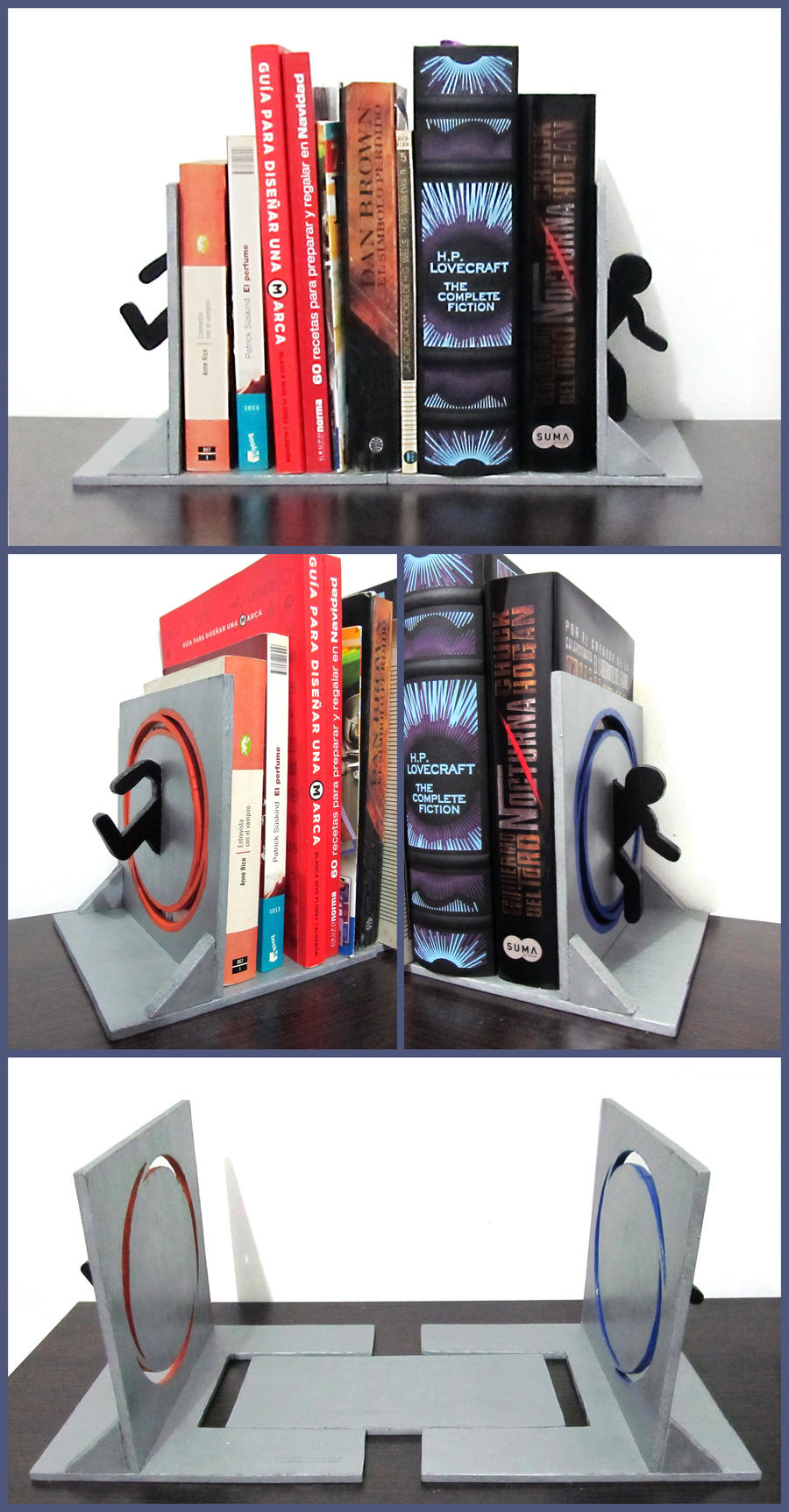 Nerdcrafting pictures post them here geek sundry community forums - Portal book ends ...