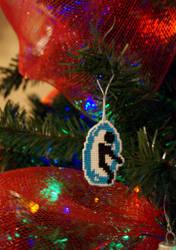 Blue Portal - Christmas ornament