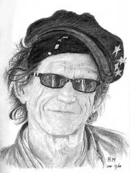 Keith Richards by Itsmerick