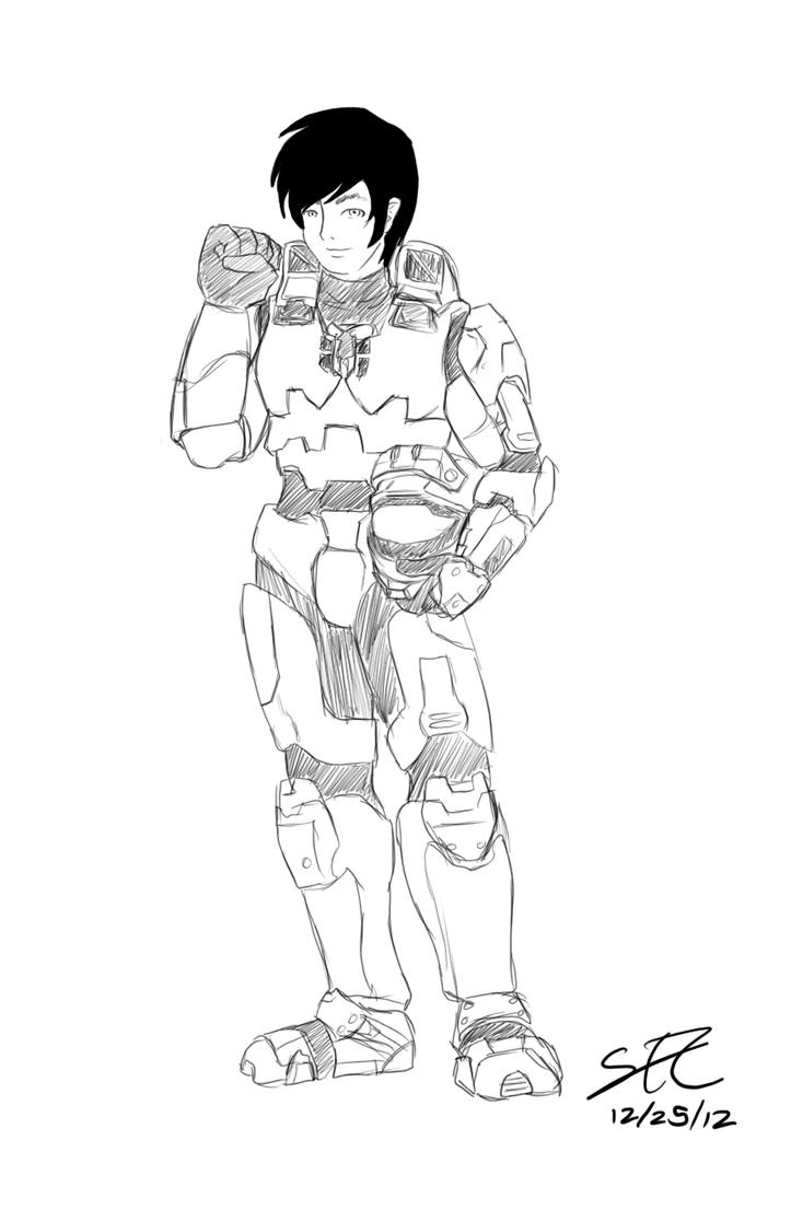 Sketch Exchange 3 by DragonoftheDark