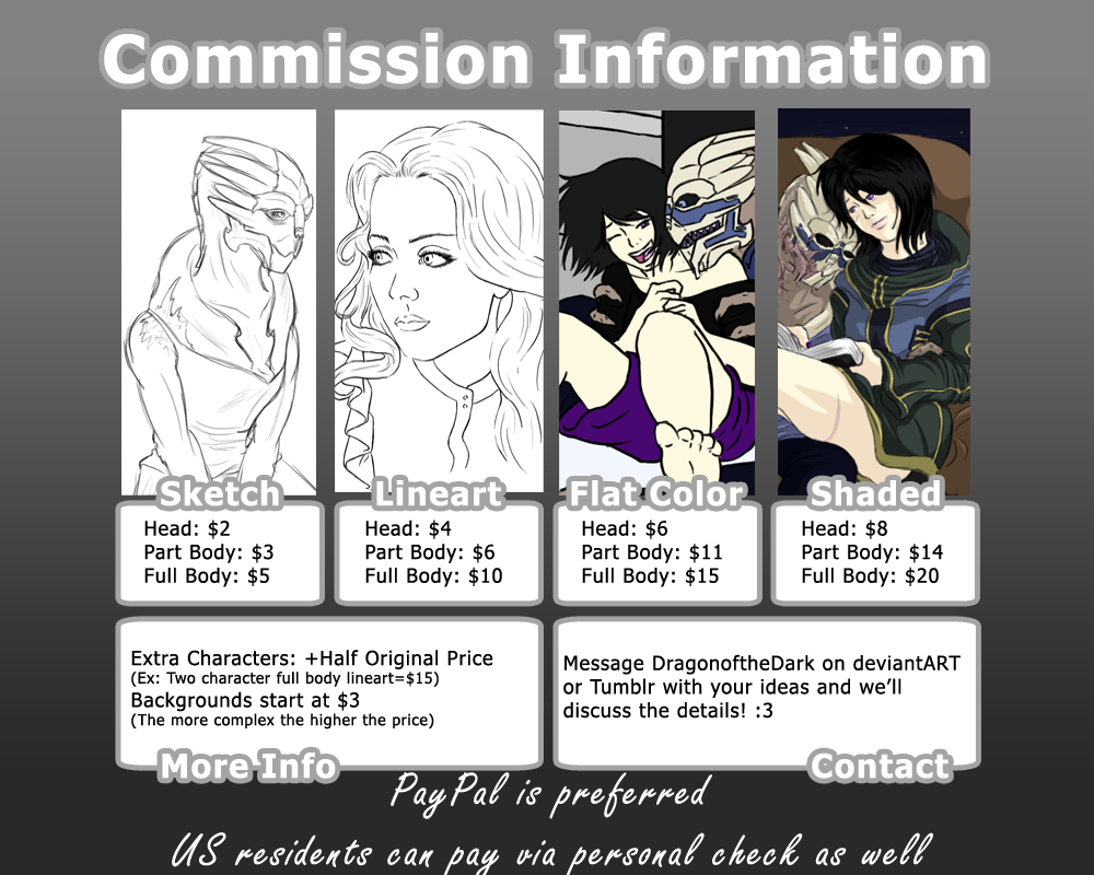 DragonoftheDark Commission Info by DragonoftheDark