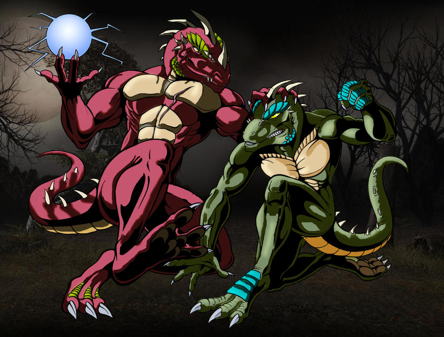 BloodFeudline shaded by Atlantean6