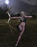 The Huntress by Atlantean6