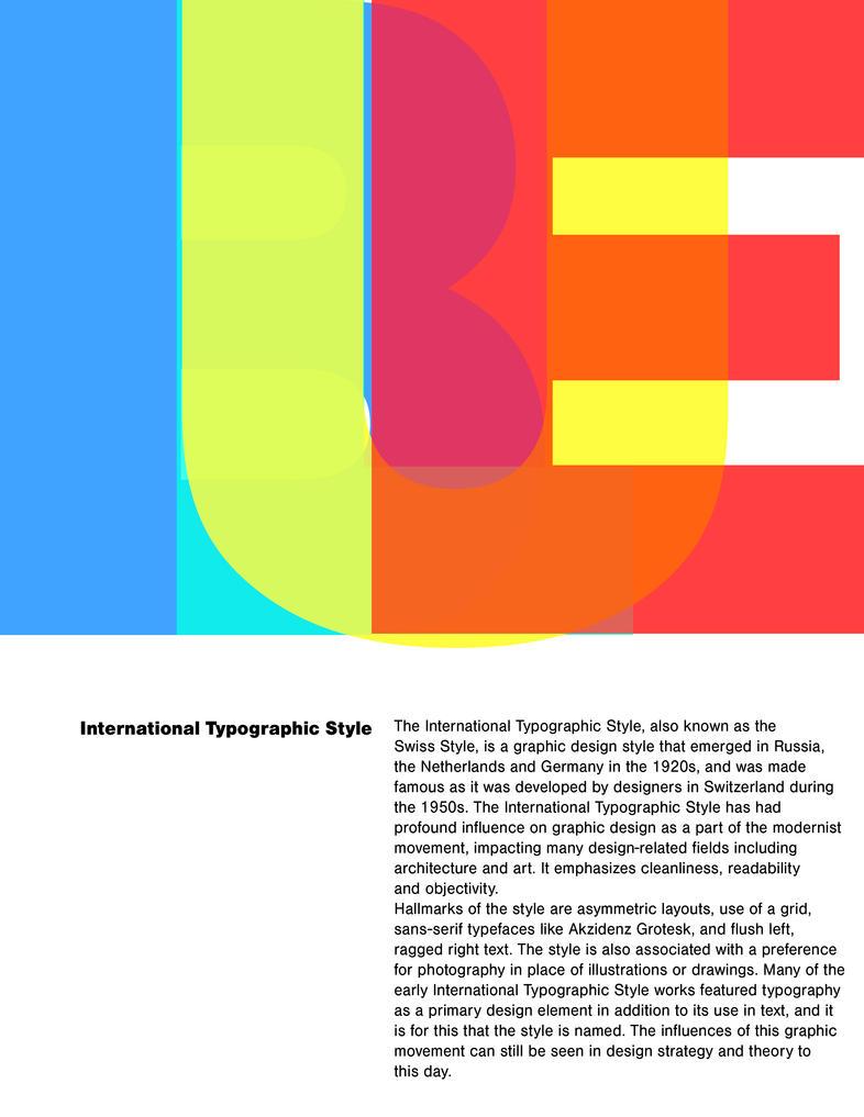 International Typographic Style by Atlantean6
