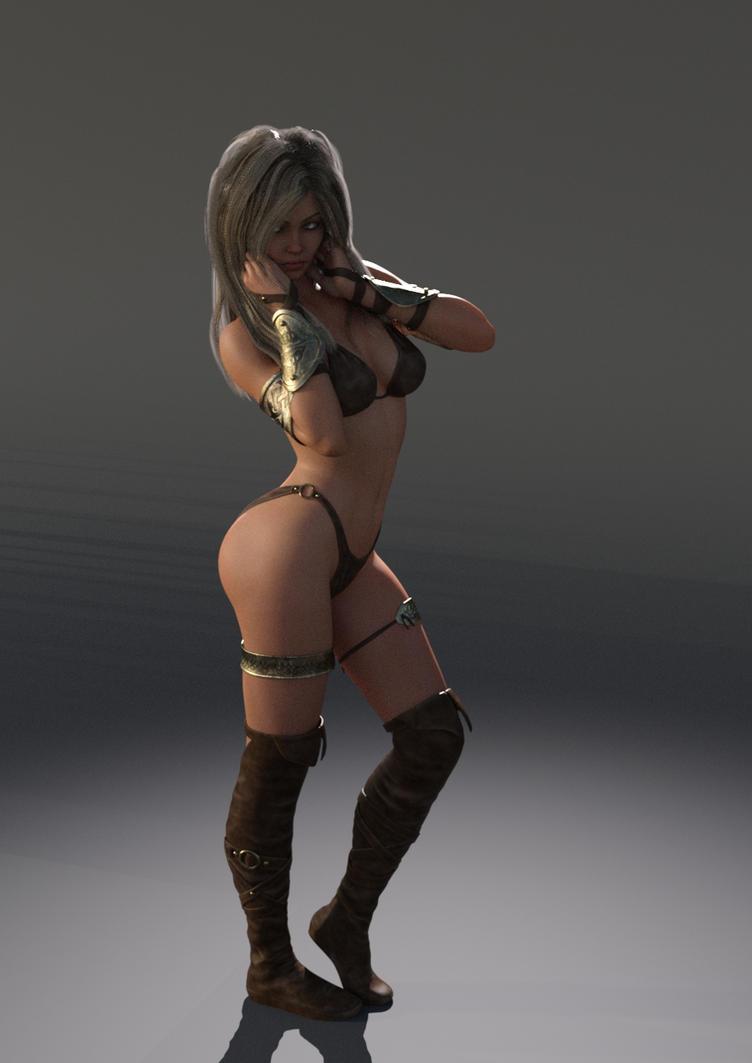Isa Posing by Atlantean6