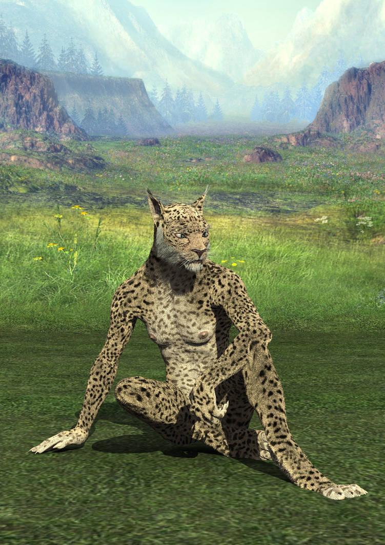 Lynx Sitting Down by Atlantean6