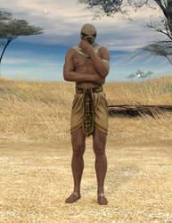 Horus contemplates
