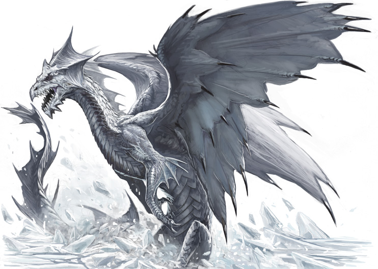 White Dragon by BenWootten