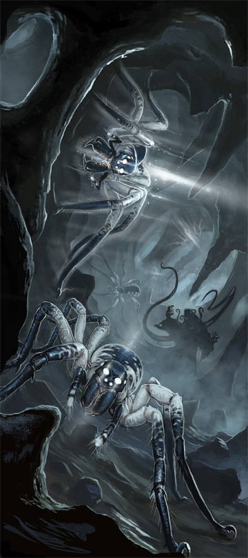 Phase Spider Attack by BenWootten