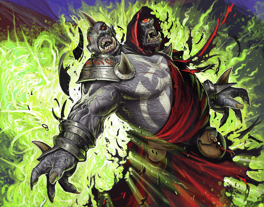 Ogre takes one for the team by BenWootten