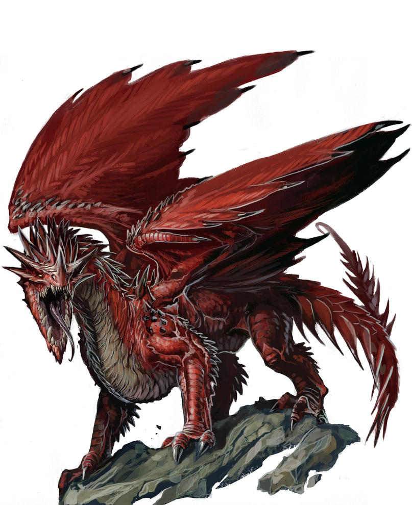 Young Red Dragon by BenWootten on DeviantArt