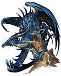 Ancient Blue dragon
