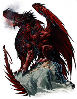 Ancient Red Dragon