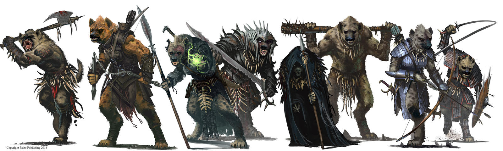 Gnoll Family photo by BenWootten